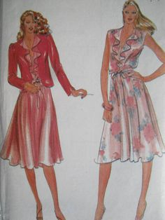 See Sally Sew-Patterns For Less - Misses Dress