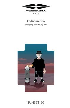 Fessura Artist collaboration Bag pack sunset05 by 전영한