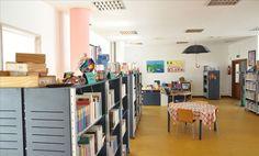 Sala Infanto-Juvenil. Biblioteca Municipal de Figueiró dos Vinhos (Portugal).