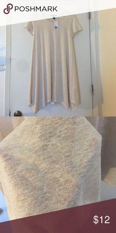 Short Oatmeal Dress Short flared oatmeal colored dress Dresses