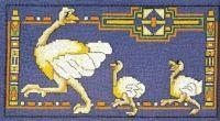 "Gallery.ru / KIM-3 - Альбом ""1"" Flamingo, Cross Stitch, Flag, Kids Rugs, Birds, Country, Art, Toss Pillows, Africa"