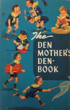 vintage book- Boy Scouts of America's 'The Den Mother's Den Book' paperback on Etsy, $20.00