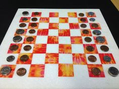 Picture of Chess pieces out of coins?