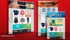 Aeropostale Argentina, Diseño y desarrollo de portal web y CMS. http://www.aeropostalearg.com/