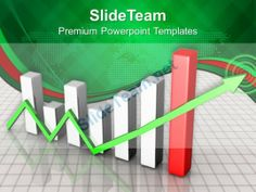 Bar Graphs And Line Chart Powerpoint Templates Themes #PowerPoint #Templates #Themes #Background