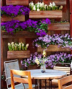living flower wall