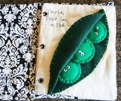 The How-To Gal: Finished Quiet Book! Ring binder and grommet tutorial as well as page ideas