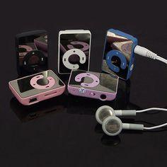 8GB-Υποστήριξη-Micro-SD-TF-Mini-Clip-USB-Καθρέφτης-MP3-Μουσική-Player-Με-ακουστικών