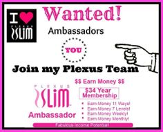 With tax season here, why not invest in yourself this year? Start the journey to get healthy and help others do the same, for only $34.95 you can own your own Plexus business!  www.PinkDrinkGal.com
