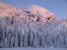 Foto: Ruka Mountain Resort in Kuusamo im finnischen Lappland – Skiort Ruka in Finnland – Ruka Winter Lappland, Winter Snow, Winter White, Winter Schnee, Lapland Finland, Winter Mountain, Destinations, Mountain Resort, Stunning View
