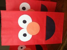 This would be great for my Nephew Deremy's 2nd Bday Party....He loves Elmo!   Elmo Birthday Party Bags