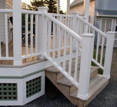 Porch Skirting Mistakes Old House Guy The Old House Guy Deck Skirting Ideas Tags Deck Skirtin Porch Lattice How To Build Porch Railing Building A Deck