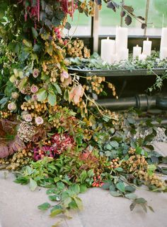 detail of that fall arch by sarah winward, honey of a thousand flowers