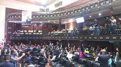 Sesión de la plenaria de la Asamblea Nacional