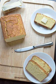 Low Carb Coconut Flour Bread (coconut flour, eggs, butter)