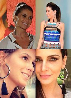 fashiontrademoda | Get the look: Brinco Tassel