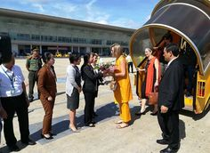 Queen Maxima visits Vietnam for the UN