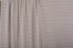 f43f43982a6 Fabric from The Sewing Workshop  Sporty stripes! Thin black stripes with  off-white
