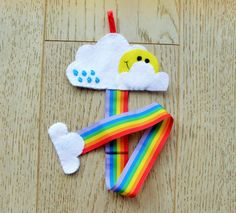 Rainbow Hairclip Holder/Organizer