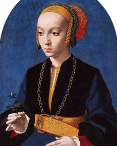 #Detail: 'Portrait of Elisabeth Bellinghausen' by Barthel Bruyn the Elder, 1538-1539. #museummagazine #arthistory