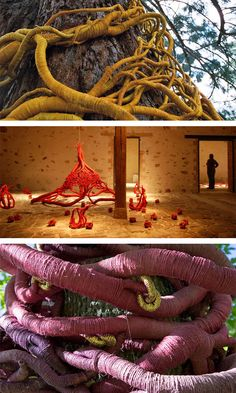 Fibre Art by Aude Franjou