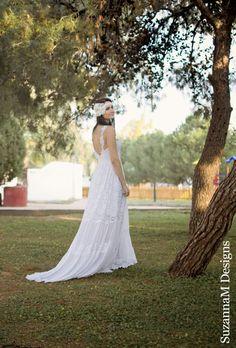 Hey, I found this really awesome Etsy listing at https://www.etsy.com/listing/196829330/white-lace-bohemian-wedding-dress-boho