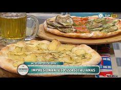 Pizzas italianas Parte 1 - YouTube