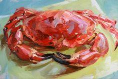 still life quick heart — Paul Wright Crab 2010