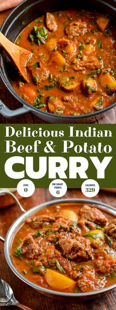 Enjoy a fakeaway night, with this delicious and Syn Free Beef and Potato Curry, leaving you plenty of syns to enjoy a couple of poppadums. #glutenfree #dairyfree #beef #curry #weightwatchers #slimmingworld #smartpoints #synfree Healthy Beef Recipes, Curry Recipes, Cooking Recipes, Batch Cooking, Potato Recipes, Meat Recipes, Slimming Eats, Slimming World Recipes, Kitchen