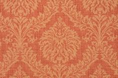 Heritage House Mustang Damask Upholstery Fabric in Spice $7.95 per yard