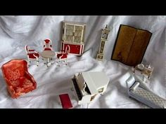 Petite Princess furniture (1964) scale 1:16