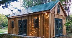 Pine Board & Batten Garages | Horizon Structures