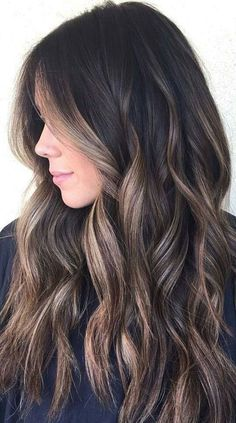Chocolate Balayage Hair
