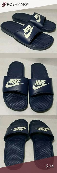 20eaeb5667fe60 Nike Men s Benassi JDI Slides Size 10 NEW New   NO TAGS