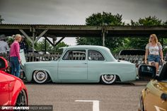 2018 Players Classic Ford Craig Searle for Speedhunters by Paddy Ford Anglia, Morris Minor, Ford Classic Cars, Retro Cars, Car Stuff, Hot Rods, Man Cave, Garage, Cars