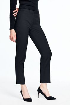 Women's Slim Ankle Pants from Lands' End
