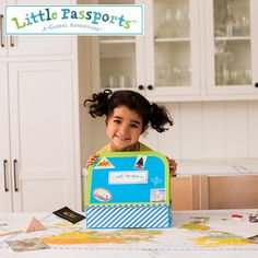 Inspire your child to learn about the world with a subscription to Little Passports! One country a month, packages arrive filled with letters, souvenirs, stickers, activities & more. Kids will love following the journey on their wall-sized World Map, and learning about places like Japan and Brazil. It's the perfect gift for kids 6-10. Start an adventure today!
