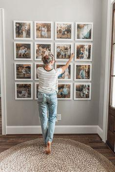 Entryway Gallery Wall – North Carolina Yoga Girl way wall decor Entrywa. - Entryway Gallery Wall – North Carolina Yoga Girl way wall decor Entryway Gallery Wall - Apartment Walls, Apartment Therapy, Decorate Apartment, Girls Apartment, Family Wall Decor, Photo Wall Decor, Family Wall Collage, Home And Deco, Home Living Room