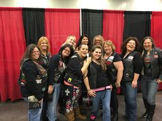 Bluegrass Bourbon Girlz Sisters of Steel Diamonds N Lace at the Columbus Oh  Easyrider bike show 2016