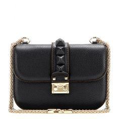 Schultertasche Lock Small Aus Leder + Valentino - mytheresa.com