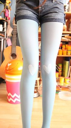 15 DIY Tights Ideas