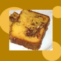 Easy Cinnamon Pecan Sour Cream Breadmaker Coffeecake Recipe
