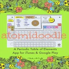 Worksheet blank periodic table pinterest periodic table atomidoodle periodic table of elements game from starts at eight urtaz Choice Image