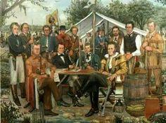 Texas Revolution, Texas History, Military Art, Bowie, Warfare, 19th Century, King, American