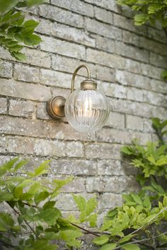 Our new Putney wall light in our beautifully reflective glass and metal is IP rated for bathroom or outdoor use, so ideal for adding a designer touch to your bathroom, porch or garden space.
