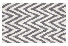 Jane Shag Rug, Ivory/Gray on One Kings Lane today