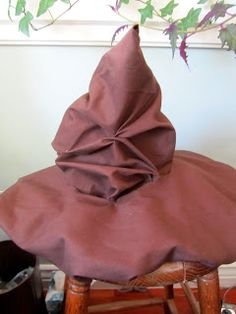 Harry Potter party - sorting hat.