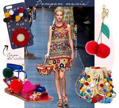 Hoje no meu #blogdaaliceferraz conto sobre a tendência fun dos pompons que ganhou força total no radar fashionista! Check it!  #FhitsTips #FhitsTrendAlert