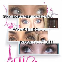 Oh my word! Skyscraper Mascara is reduced to £8.50 / $9.50 while stocks last!!!!!!! Who doesn't love a bargain! Find out what everyone is raving about.