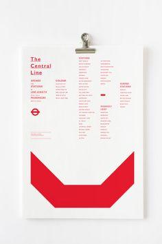 Actualité / Le métro de Londres toujours aussi fascinant / étapes: design &…